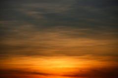 Himmelbakgrund och tomt område för text, naturbakgrund och känsla som är bra i skymning eller morgonen, bakgrund för presentation Royaltyfria Bilder