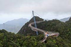 Himmelbrücke Stockfotos