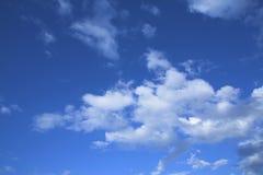 Himmelhintergrund Stockfotos