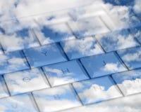 Himmelhohe Datenverarbeitung Lizenzfreies Stockbild