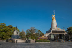 Himmelleuchtturm Phuket-Blaustatut Lizenzfreies Stockbild