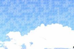 Himmelluftbakgrund royaltyfria foton