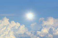 himmelmoln Arkivfoton