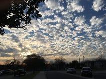 Himmelnachmittag San Antonio schön lizenzfreie stockfotos