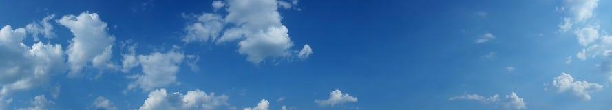 Himmelpanoramor, hög res Royaltyfri Foto