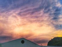 Himmelshimmel Stockfoto