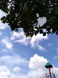 Himmelsikt Arkivfoto