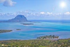 Himmelsikt Mauritius Royaltyfri Fotografi