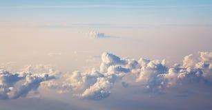 Himmelsikt med moln Royaltyfri Bild
