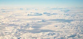 Himmelsikt med moln Royaltyfri Foto