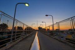 Himmelsikt på planskilda korsningen Royaltyfria Foton