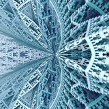 Himmelskirchengebäude geometrisch stockbilder