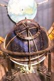 Himmelskt jordklot av den astronomiska klockan Arkivfoton