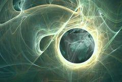 himmelskt oklarhetsplanet Royaltyfri Fotografi