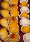 Himmelspeckkuchen Stockfotos