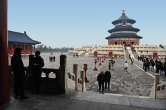 Himmelstempel in Peking China Stockfotografie