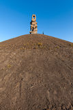 Himmelstreppe. Gelsenkirchen, Germany - November 1, 2015: Halde Rheinelbe is a spoil tip and tourist attraction, and part of the industrial heritage trail (Route Stock Images