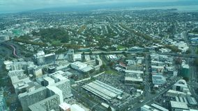 Himmeltorn Auckland Nya Zeeland Arkivbild