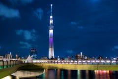 Himmelträdet, Tokyo Arkivbild