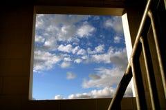 himmeltrappa till Fotografering för Bildbyråer