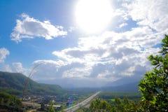himmelväg till Royaltyfri Foto