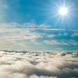 Himmelwolken Stockbild