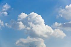 Himmelwolken-Hintergrund Stockfotografie