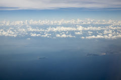 Himmelwolken-Hintergrund Stockbilder