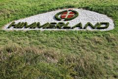 Himmerland logo in the grass  during Made in Denmark golf tournament