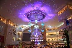Himmili do evento claro da iluminação em Hankyu Umeda imagem de stock