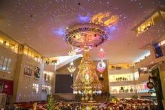 Himmili do evento claro da iluminação em Hankyu Umeda foto de stock royalty free