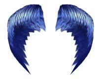 Himmlische blaue Flügel Lizenzfreie Stockfotografie