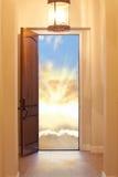 Himmlische Tür lizenzfreie stockfotos