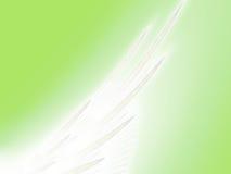 Himmlischer Flügel Stockfoto