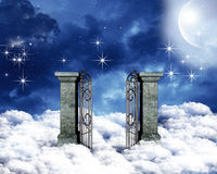 Himmlisches Gatter lizenzfreie stockfotos