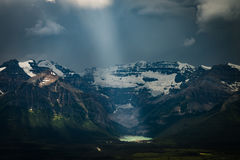 Himmlisches Lake Louise Stockfotos