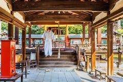 Himuro jinja Shrine in Nara Royalty Free Stock Image