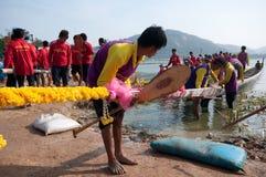hin 2011 конкуренции шлюпки hua длиной Стоковая Фотография