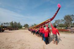 hin 2011 конкуренции шлюпки hua длиной Стоковая Фотография RF