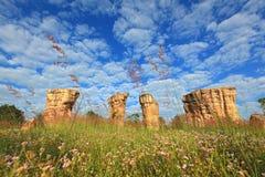 hin khao平均观测距离stonehenge泰国 库存图片