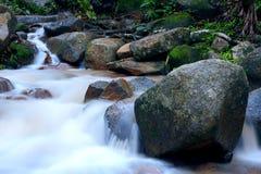 Hin Lad Waterfall. Hin Lad in Jungle , Koh Samui, Thailand Stock Image