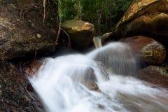 Hin Lad Waterfall. Hin Lad in Jungle , Koh Samui, Thailand Stock Photo