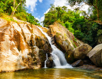 Hin Lad Waterfall. Stock Photography