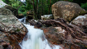 Hin Mann-Wasserfall Stockfotografie