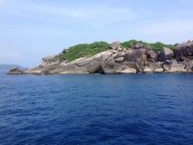 Hin Rua Bai, symbol of similan island in Thailand Royalty Free Stock Photos