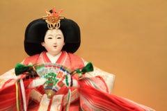Hina doll (Japanese traditional doll) Royalty Free Stock Photography