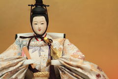 Hina doll (Japanese traditional doll) Royalty Free Stock Images