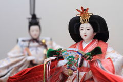 Hina doll (Japanese traditional doll) Stock Image