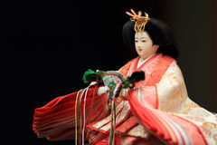 Hina doll (Japanese traditional doll) Stock Images