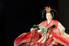 Hina doll (Japanese traditional doll) Royalty Free Stock Photo